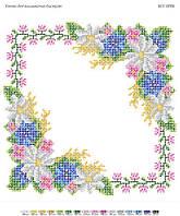Набор для вышивки бисером заготовки салфетки