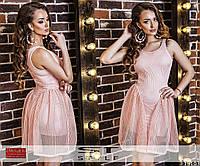 Оригинальное платье с пышной юбкой 900 (848)