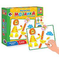 Развивающая игра на магнитах Магнитная мозайка Vladi Toys VT 3701-02