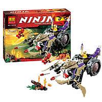 Конструктор BELA Ninja Thunder Swordsman № 10318 «Разрушитель Клана Анакондрай» 218 деталей  YNA /0-21