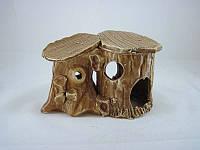 Керамика для аквариума Островок для черепахи, 15х10 см.