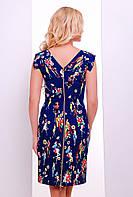 Женское платье в брендовой расцветке