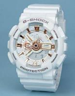Спортивные наручные часыCasio g-shock Ga-110 White Gold AAA