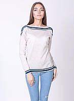 Женский джемпер с приспущенной линией плеча, фото 1