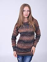 Теплая туника модной вязки, фото 1