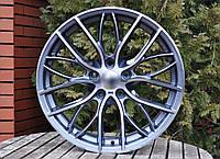 Литые диски R18 5x120 на BMW X5 (E53 E70 F15) БМВ X6 (E71 E72) Титановые