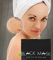 Маска для лица Черная от прыщей и черных точек Black Mask