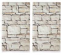 "Набор досок кухонных ZELLER ""Stone"" 2 шт 30х52 см (26294)"
