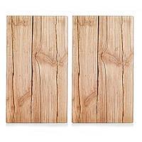 "Набор досок кухонных ZELLER ""Wood"" 2 шт 30х52 см (26277)"