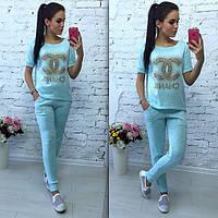 Костюм Chanel повседневный молодежный с брюками MIL69
