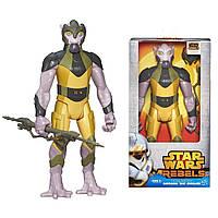 Фигурка Звездные войны Зеб Оррелиос 30 см высотой с оружием и аксессуарами. Оригинал Hasbro