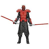 Фигурка Звездные войны Дарт Мол 30 см высотой с оружием и аксессуарами. Оригинал Hasbro