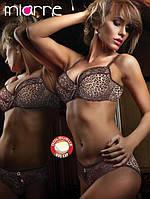 Женское белье Miorre леопардовые бюст и трусики