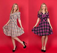 Платье в стиле Burberry №909(р.42-52)
