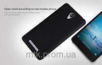 Чехол-бампер и плёнка NILLKIN для телефона Xiaomi Redmi Note 2 черный