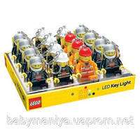 Брелок-фонарик фигурка  полицейский, пожарник, строитель Lego