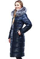 Зимнее женское пальто с чернобуркой Амина  в Украине по низким ценам