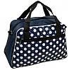 Оригинальная сумка-саквояж тканевая 309 blue синий