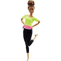 Кукла Барби йога Аша Barbie Made To Move Doll