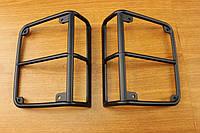 Jeep Wrangler 2007-16 накладки на задние стопы фонари новые оригинал