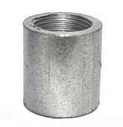 Муфта стальная(оцинкованная) Ду 20