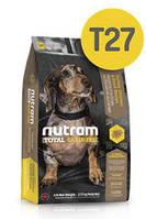 T27 Nutram Total Small Breed TurkeyChicken&Duck 6,8кг- беззерновое питание для собак мелких пород