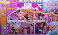 Домик 97 для Барби 2 этажа 134 детали