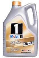 Моторное масло MOBIL 1 NEW LIFE 0W40, 5 литров