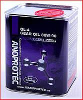NANOPROTEC GEAR OIL 80W-90 GL-4, 1л.