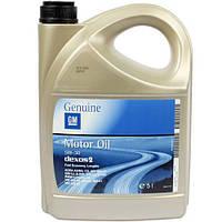 Моторное масло GM Dexos 2 Long Life 5W30, 5 литров