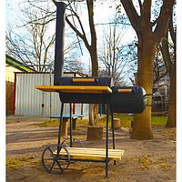 Коптильня Троян мини. Коптильный комплекс. Мангал-шашлычница. Коптильня горячего копчения. Купить. Код: КДН269