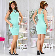Женское платье полу батал, фото 1