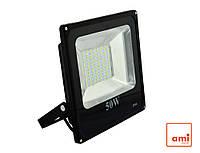 Прожектор светодиодный FL-50 50W 6400К Slim SMD (GT-15203)