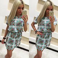 Женское модное платье с узором