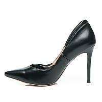 Классические черные туфли лодочки, р  36,38