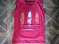 Летние футболки-майки для мальчиков 134-152 см  Турция  -супрем