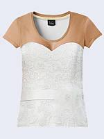 Оригинальная футболка Платье с классным 3D-рисунком