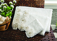 Полотенце махровое банное Janise 90*150.