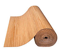 Бамбуковые обои темные 17 мм, ширина 250см.