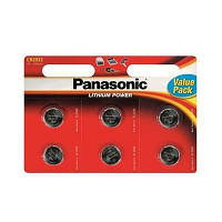 БатарейкаPanasonic CR 2032 BL 6шт