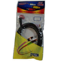 Аудио-кабель Atcom mini-jack 3.5мм(M) to mini-jack 3.5мм(F) 1,8м пакет (Удлинитель)