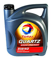 Масло моторное Total Quartz 9000 Energy 5W-40 5л.