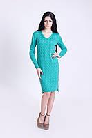Вяданноее платьес  удлиненной спинкой, фото 1