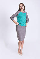 Костюм двойка джемпер и юбка , фото 1
