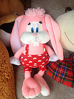 Мягкая плюшева игрушка Заяц Скок