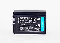 Аккумулятор NP-FW50 для камер Sony NEX-3 NEX-5 SLT-A33 SLT-A37 SLT-A35 SLT-A55 A5000 A5100 A6000 A7 - 1850 ma