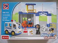 Конструктор Полицейский участок , POLICE STATION 188-113