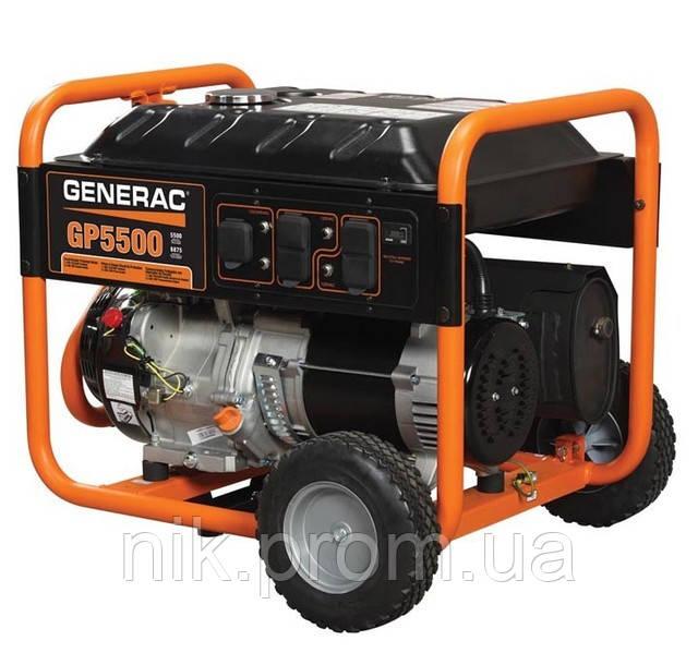 Бензиновый генератор 5.5 кВт GENERAC (USA)