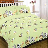 Комплект постельного белья Вилюта детское ранфорс 9509 зеленое