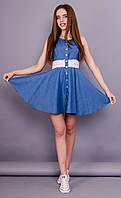 Кураж. Платье джинсовое летнее. Джинс.(Р)., фото 1
